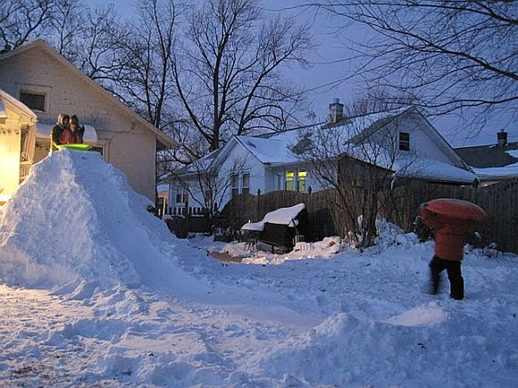 Build A DIY Snow Ramp