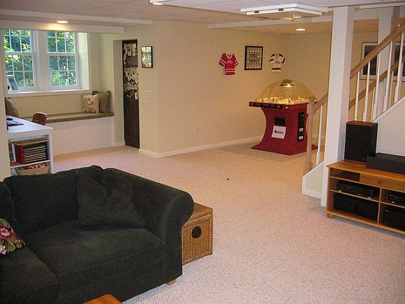 Help your low basement ceilings see the light - Low ceiling basement ideas ...