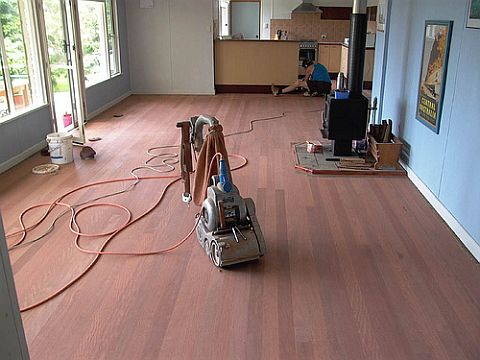 FloorSanding 080310 Refinish Your Wood Floors on a DIY Budget