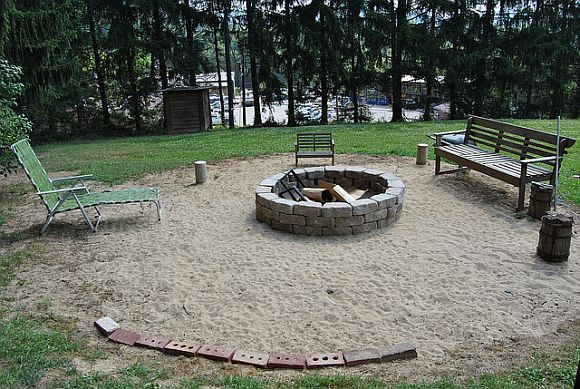 FreshHome FirePitProject Build A Fire Pit In Two Hours Or Less