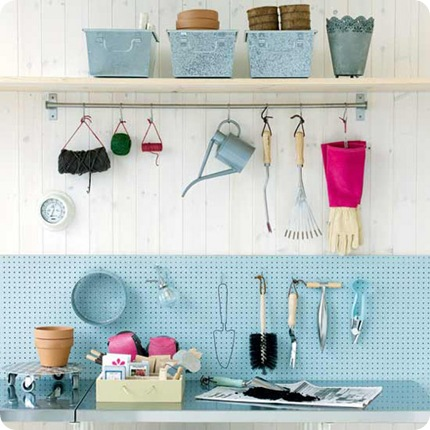 Idea File: An Organized (and Stylish) Garage