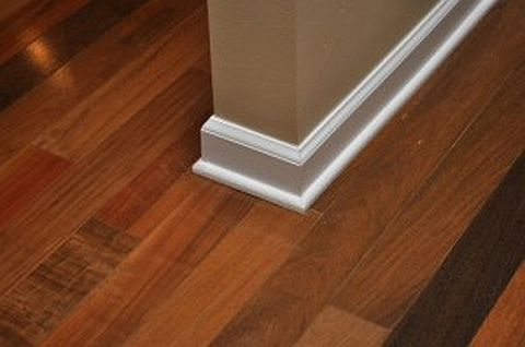 HardwoodMitreJoin 080410 Hardwood Floor Installation Tutorial