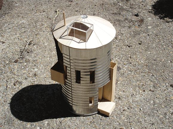 Convert A Silo With A-House-In-A-Can