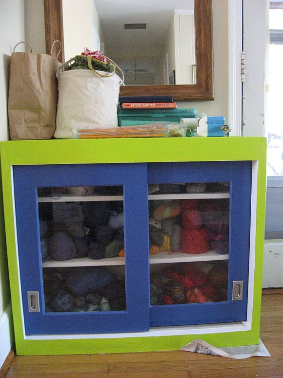 SalvagedCabinet Create DIY Storage With A Renovated Armoire