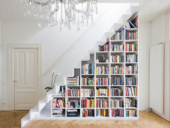 StairstepBookcase A Home For Book(shelf) Lovers