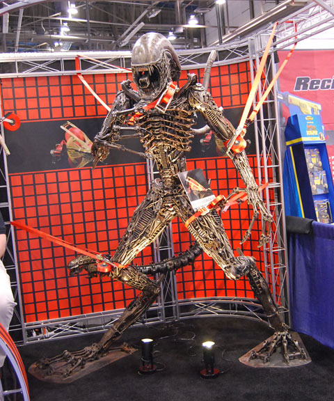 alien strapped down Last Minute Products from 2010 National Hardware Show
