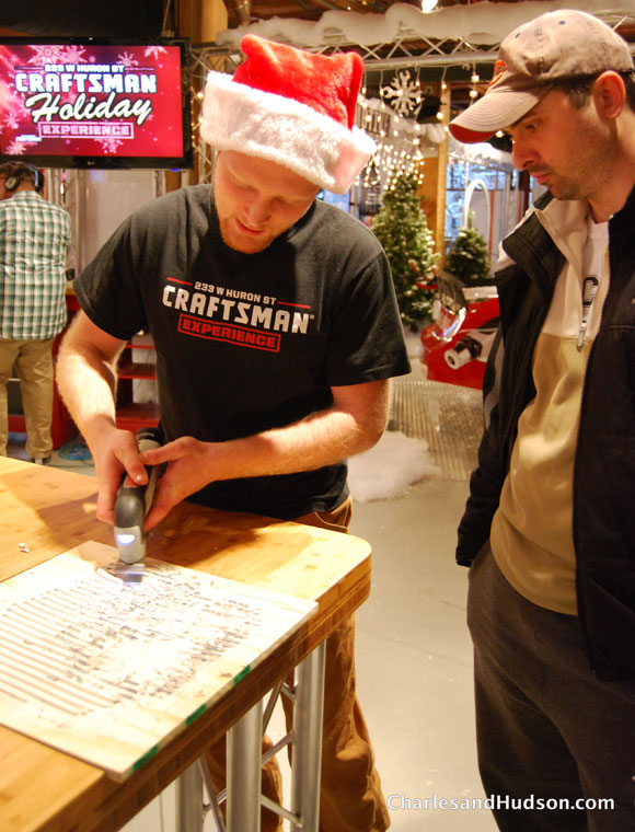 andrew craftsman Winter Wonderland at the Craftsman Experience