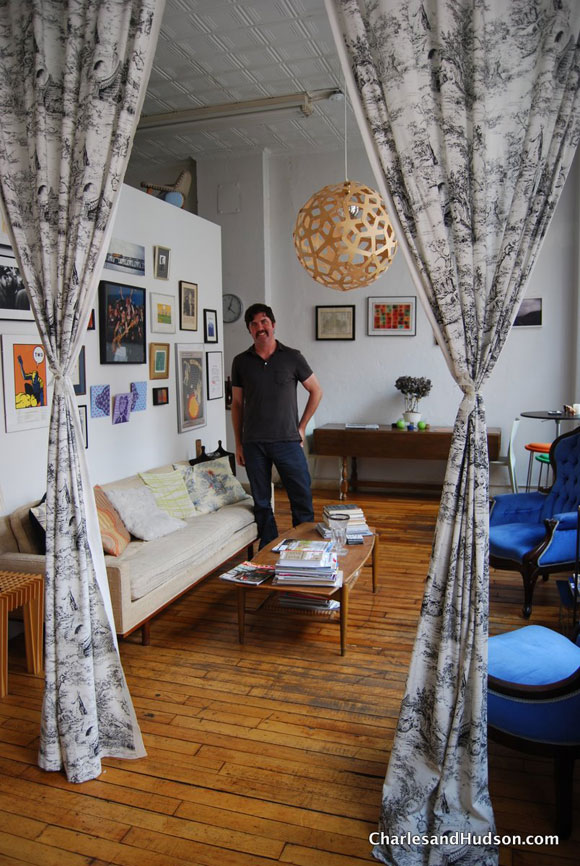 ReadyMade Editor-in-Chief Andrew Wagner's Tribeca Loft
