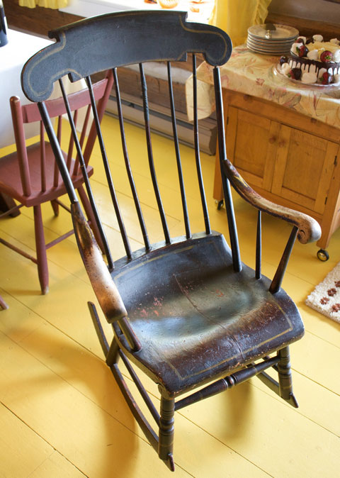 antique rocking chair The Value of Second Hand Furniture