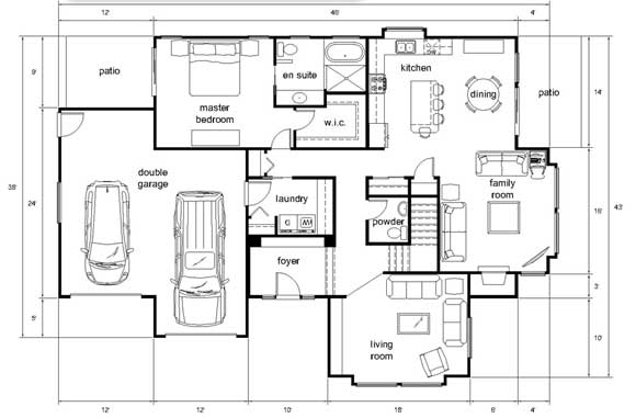 Autocad Freestyle Floorplan Part 48