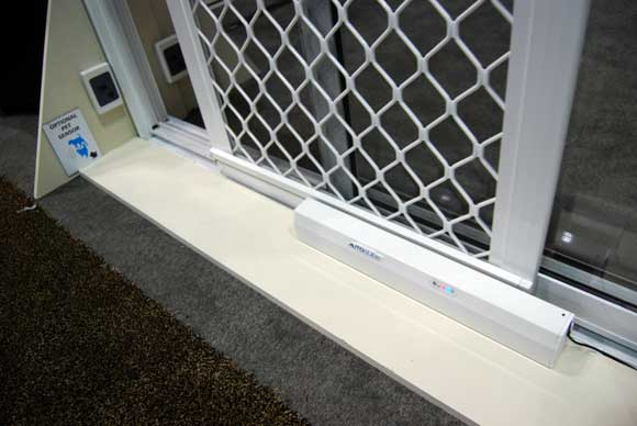 autoslide pet door C&H Best of 2011 Builders Show
