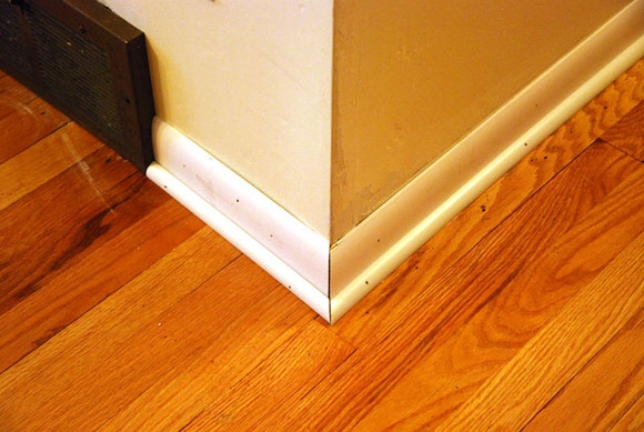 baseboard floor molding How To Install Baseboard Molding Around A Corner