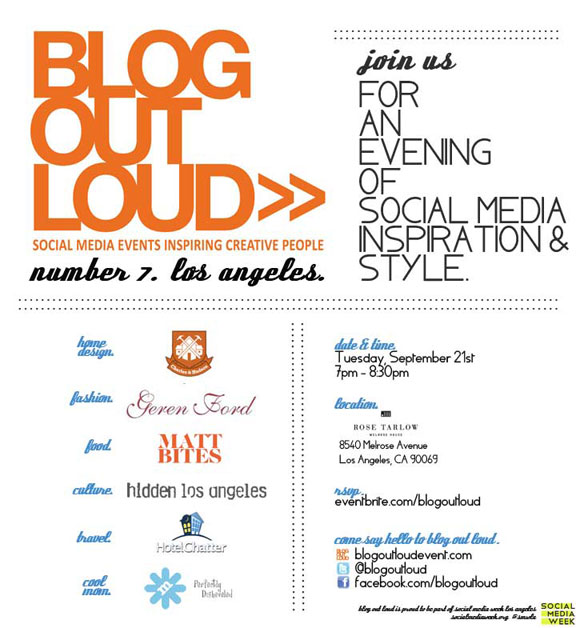 blog out loud Today We Blog Out Loud