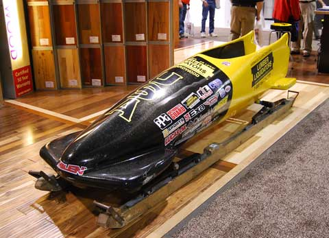 bobsled 7 Unexpected Things at Builders Show 2010