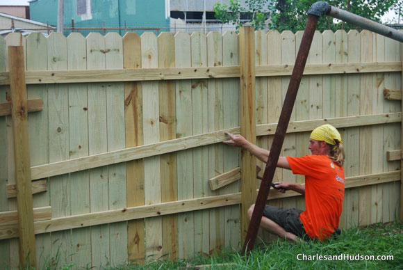 building fence new orleans Rebuilding Together with Sears at Fifty for Five