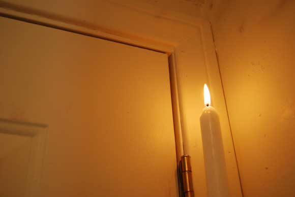 candle energy leak tip Easy Tips to Winterize Your Home