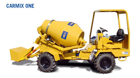 carmix one Carmix   Your Personal Concrete Mixer Truck
