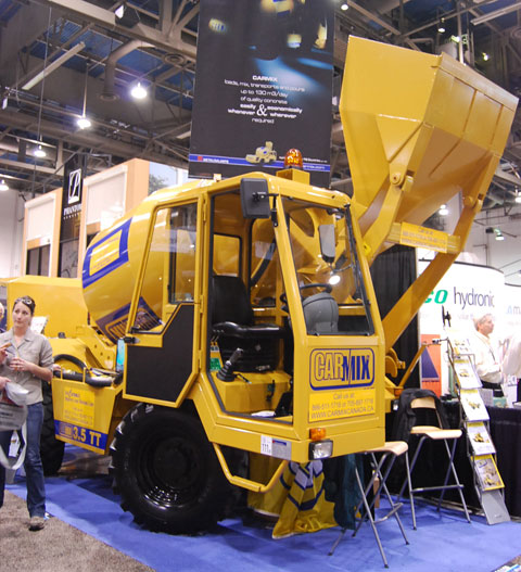 Carmix – Your Personal Concrete Mixer Truck