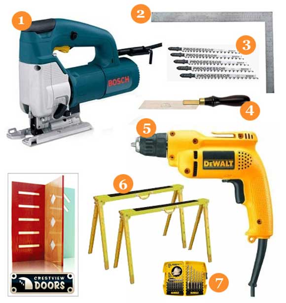 Giveaway: Tools and More from Crestview Doors