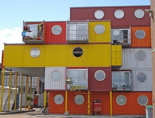 container city house Live/Work in a Container City
