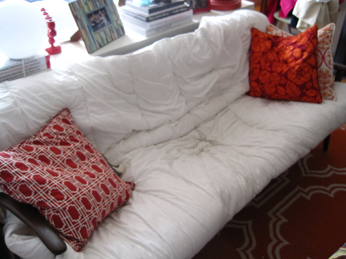 Solution For A Sagging Sofa