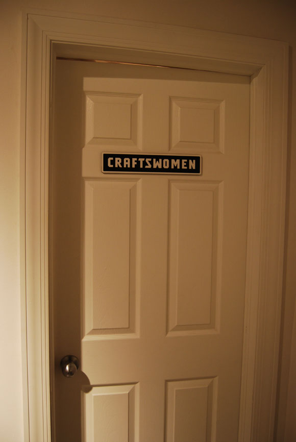 craftswoman sign Indulge in the Craftsman Experience