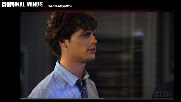 Matthew Gray Gubler is Back Hunting Bad Guys on Criminal Minds Season 6