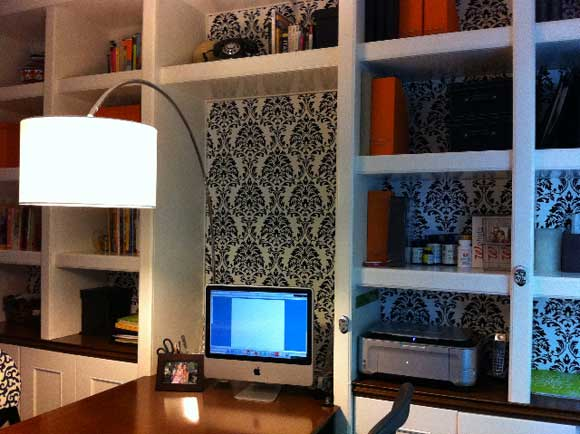 decorate desk Home Office Design Makeover