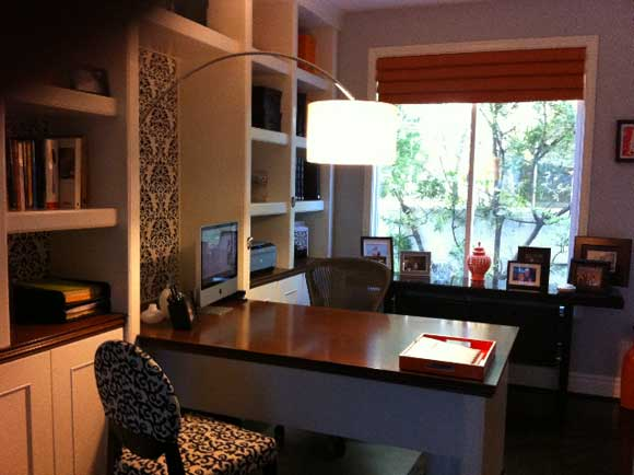 desk lamp office Home Office Design Makeover