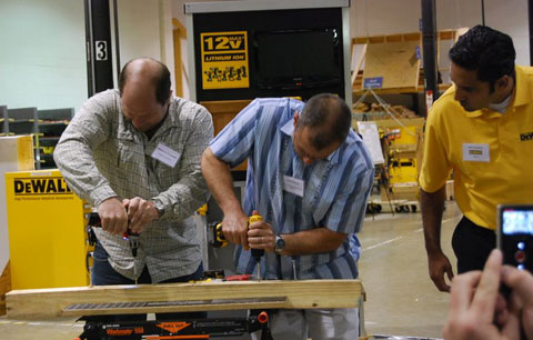A Day at Black & Decker University: DeWALT 12V MAX Cordless Platform