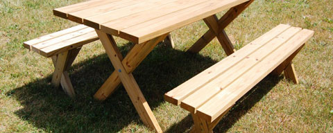 diy picnic table Friday Fixes From our Friends