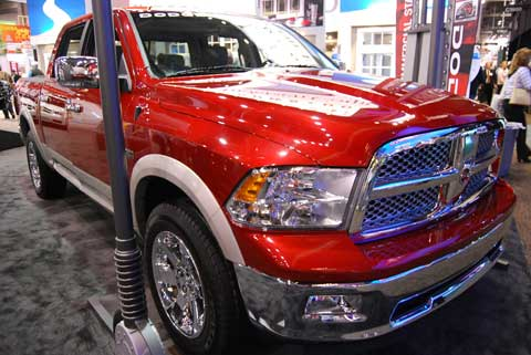 dodge ram 1500 Trucks of Builders Show 2010
