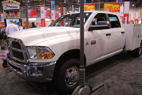 dodge ram 3500 ibs Trucks of Builders Show 2010