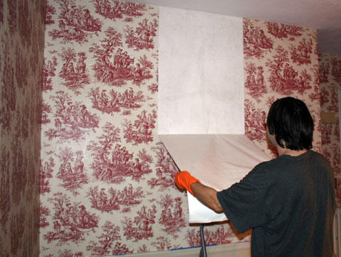 wallpaper removal contractors. Easy Wallpaper Removal Options