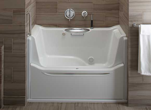 elevance tub kohler C&H Best of 2011 Builders Show
