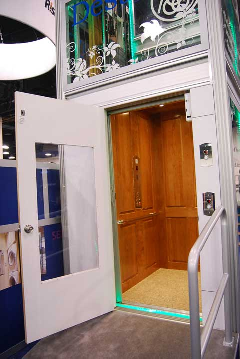 elevators ibs 7 Unexpected Things at Builders Show 2010