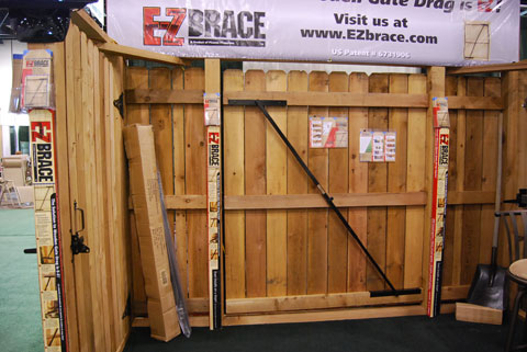 ez brace gate E Z Brace: Fix Sagging Wooden Gates