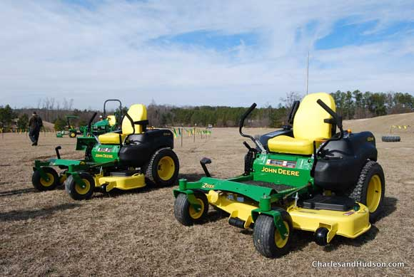 ez track john deere zero turn mower John Deere Factory Tour and Tractor Testing