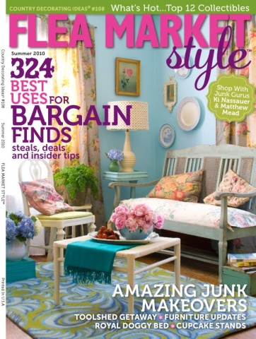 fmsmag cover Flea Market Style, The Magazine
