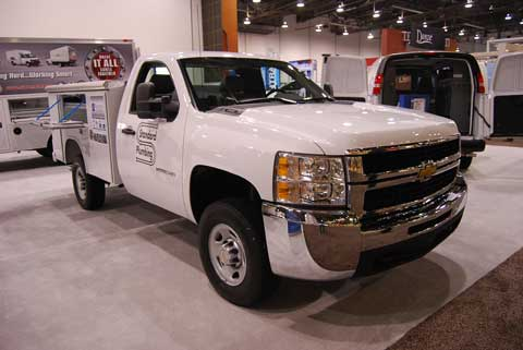 gmc 3500 Trucks of Builders Show 2010