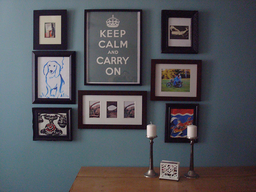 hanging wall art Setup Your Art Gallery At Home