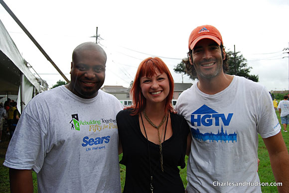 hgtv carter oosterhouse diynetwork chris grundy laura dahl Rebuilding Together with Sears at Fifty for Five