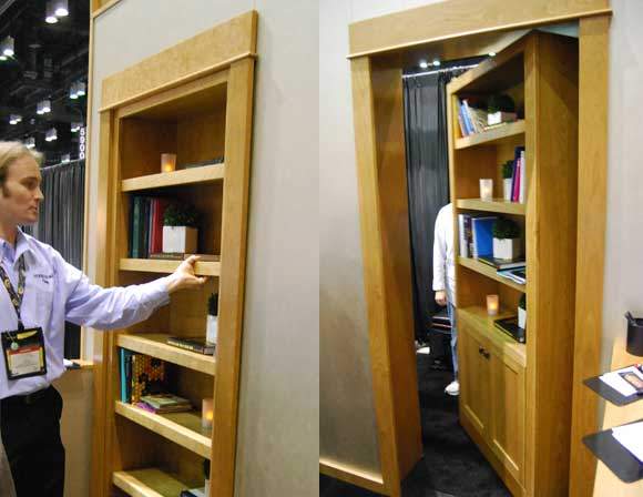 hidden doors C&H Best of 2011 Builders Show