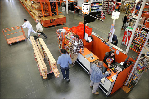 home depot and lowe s on the rebound
