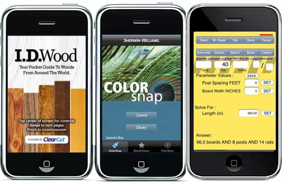 home improvement apps iphone droid blackberry ipad tablet Best Home Improvement Apps