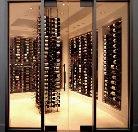 Wine storage wow - Small space wine racks design ...