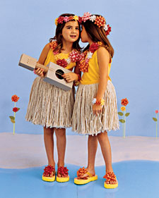 hula dancer costume Easy Halloween Costumes