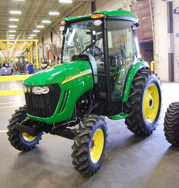 john deere 4720 tractor John Deere Factory Tour and Tractor Testing
