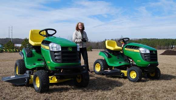 John Deere Riding Mowers at Home Depot