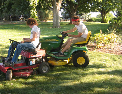 john deere lawnmower 4 Tips to Protect Your Lawn From the Heat